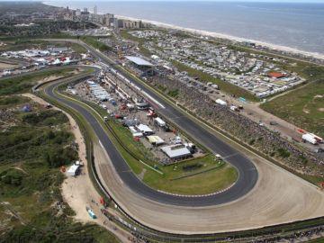 El circuito de Zandvoort, sede del GP de Holanda