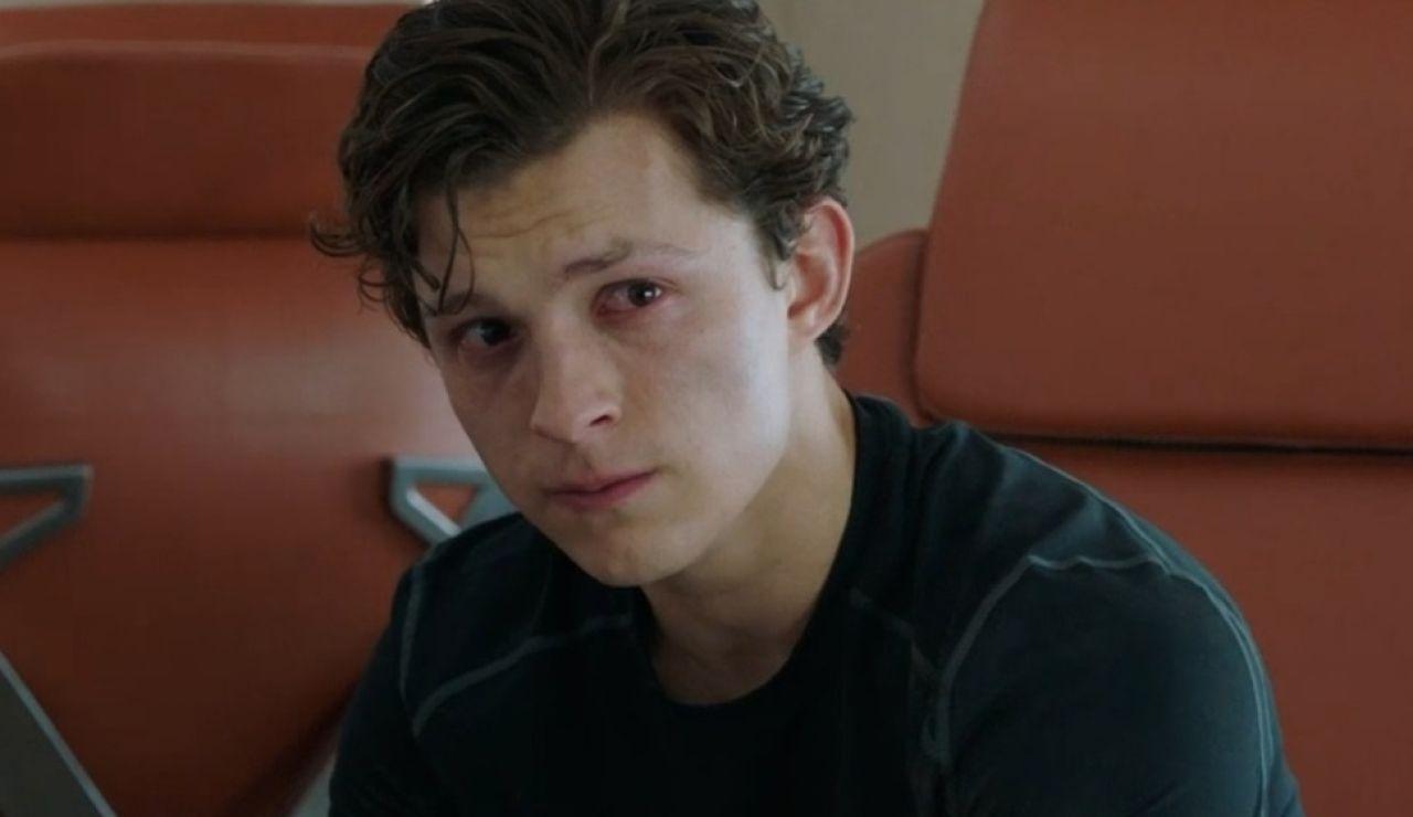 Tom Holland en 'SpiderMan: Lejos de Casa'