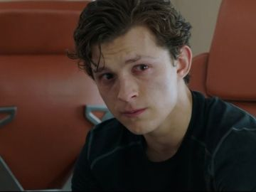 Tom Holland en 'SpiderMan: Lejos de Casa'