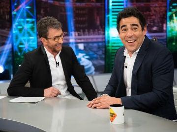"""Pablo Chapella demuestra su """"dominio"""" del valenciano en 'El Hormiguero 3.0'"""