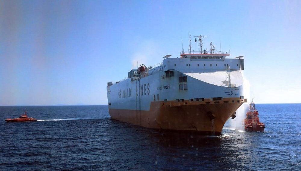 El buque 'Grande Europa'