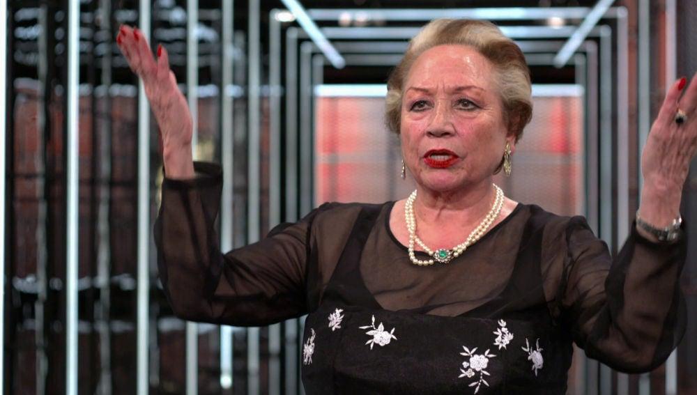 Maruja Garrido se despide de 'La Voz Senior'
