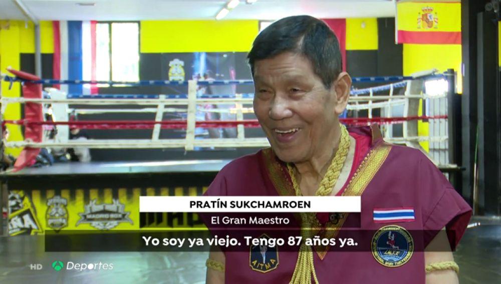 Conocemos a Patrín Sukchamvoen, el gran maestro del Muay Thai que vive en España