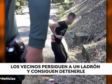 Los vecinos de Catoira logran detener a un ladrón