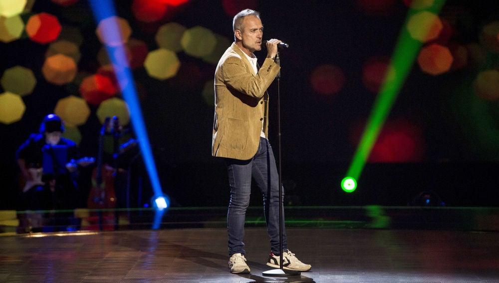 Gonzalo Fernández canta 'Quién piensa en ti' en las Audiciones a ciegas de 'La Voz Senior'
