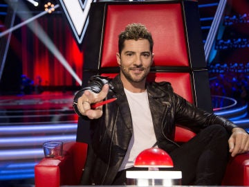 David Bisbal, coach de 'La Voz Senior'