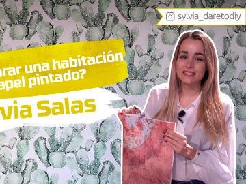 Sylvia Salas nos enseña cómo decorar una habitación con papel pintado