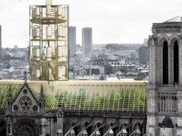 Así se imaginan la futura catedral de Notre Dame estudios de arquitectura de todo los mundo