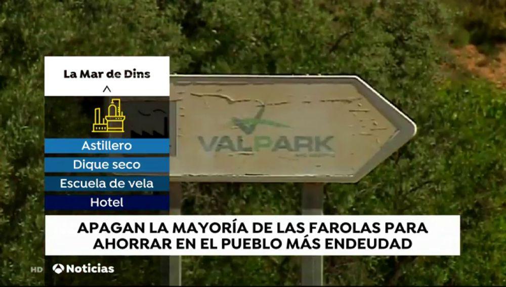 Así es el pueblo más endeudado de España