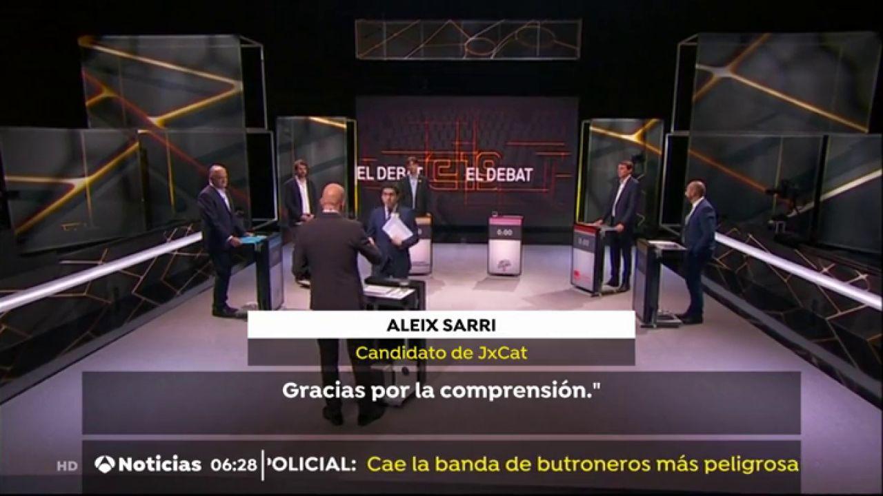 JxCat Planta Al Resto De Candidatos En TV3 Tras El Veto De