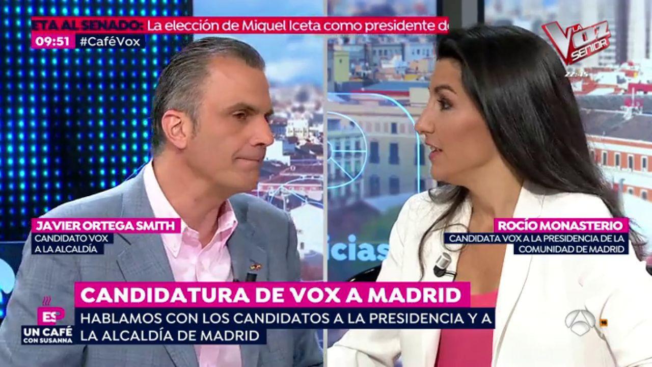 """Rocío Monasterio: """"Un Porcentaje Muy Alto De Delincuencia"""