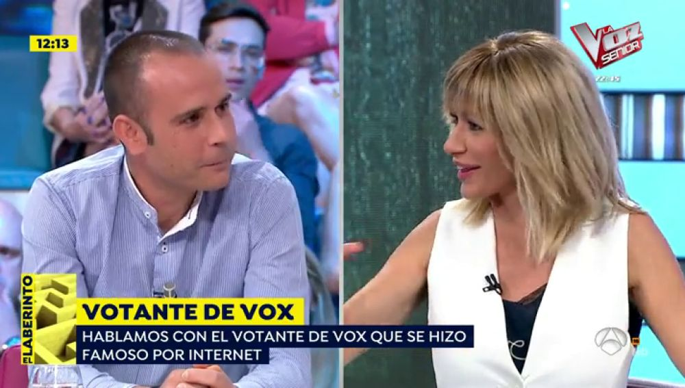 Ismael, el votante viral de Vox
