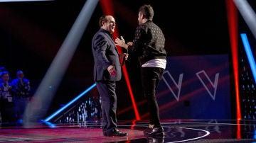 """Pablo López se hace con la voz de Giuseppe Izzillo: """"Era feliz cuando estaba cantando"""""""
