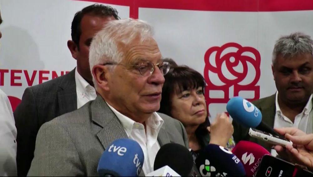 """Borrell sobre la fragata Méndez Núñez: """"hemos decidido retirar nuestra fragata porque nosotros no estamos en eso"""""""
