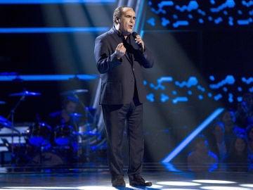 Giuseppe Izzillo canta 'Volaré' en las Audiciones a ciegas de 'La Voz Senior'