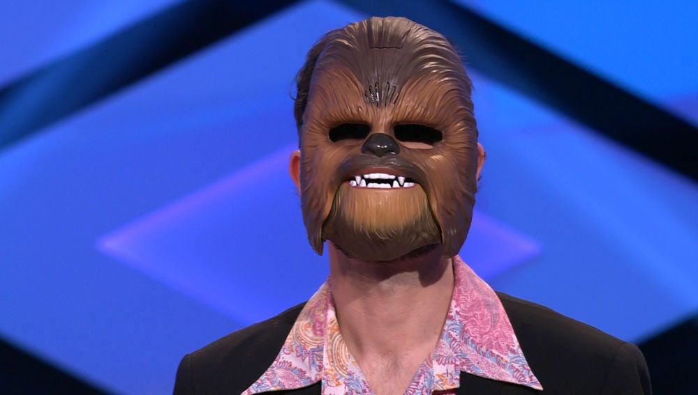 Chewbacca, protagonista de este complicado reto de 'Los Lobos' en '¡Boom!'