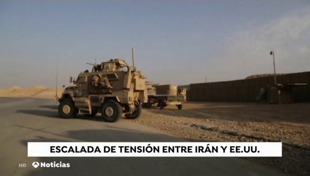 EEUU retira a parte de su personal de la embajada en Irak ante el aumento de la tensión con Irán