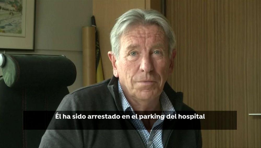 Josu Ternera fue detenido en el aparcamiento del hospital
