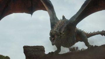Daenerys Targaryen y su dragón Drogon en 'Juego de Tronos'
