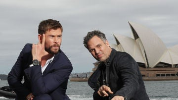 Chris Hemsworth y Mark Ruffalo