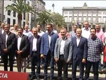 Pedro Sánchez está de visita en Canarias