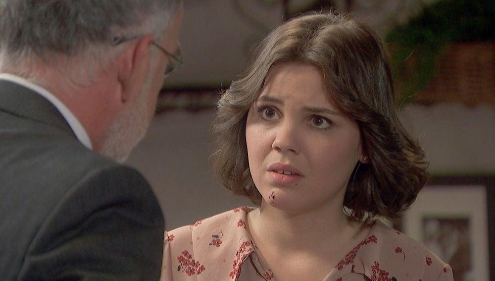 'El secreto de Puente Viejo': Zabaleta alerta a Marcela del preocupante estado de salud de Matías