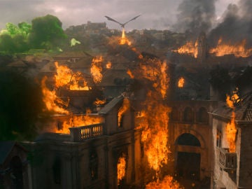 Escena de 'Las Campanas', penúltimo capítulo de 'Juego de Tronos'