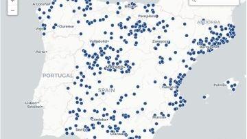 Mapa wifi gratis