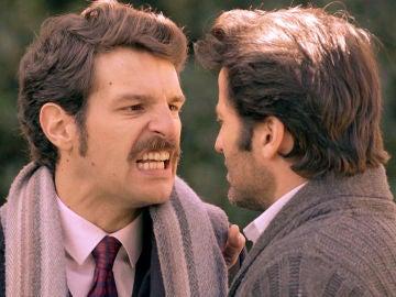 Carlos y Gabriel, duramente enfrentados por la potestad Mónica