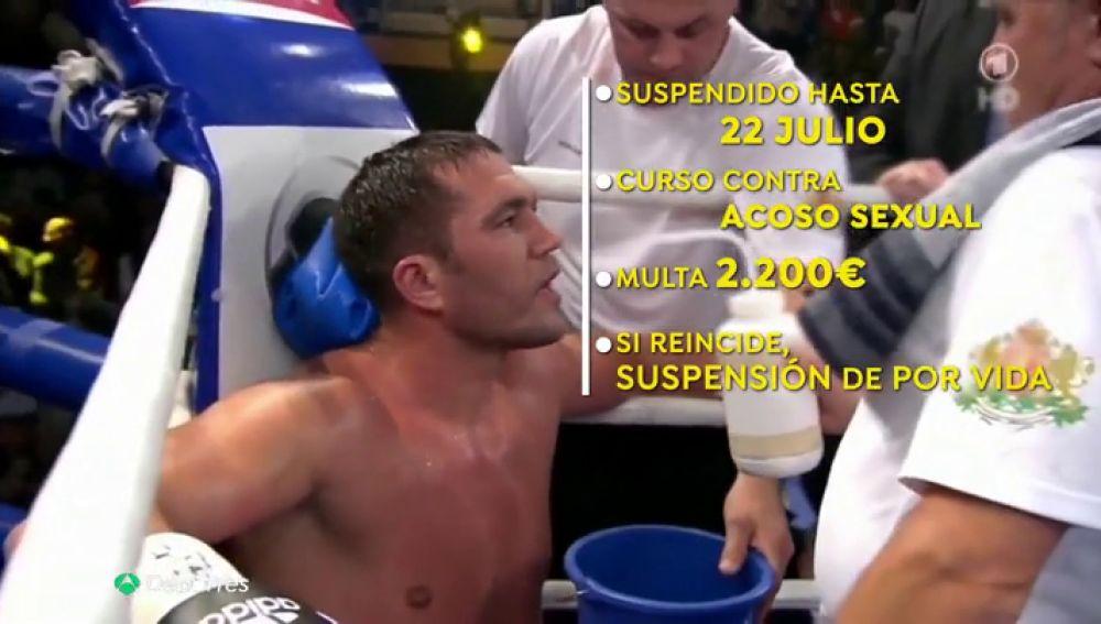 """El boxeador Kubrat Pulev, suspendido por besar sin consentimiento a una periodista: """"Fui humillada"""""""