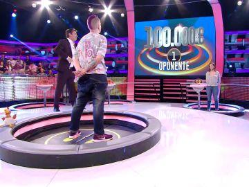 Nerea se arriesga a la última ronda: ¡decide luchar por el premio de 100.000 euros!