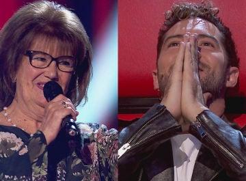'El relicario' de una talent deja sin palabras a David Bisbal en 'La Voz Senior'