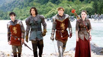 Los protagonistas de 'Las Crónicas de Narnia: El Príncipe Caspian'