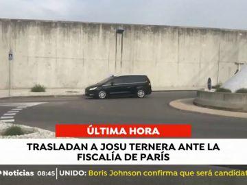 Trasladan a Josu Ternera ante la Fiscalía de París