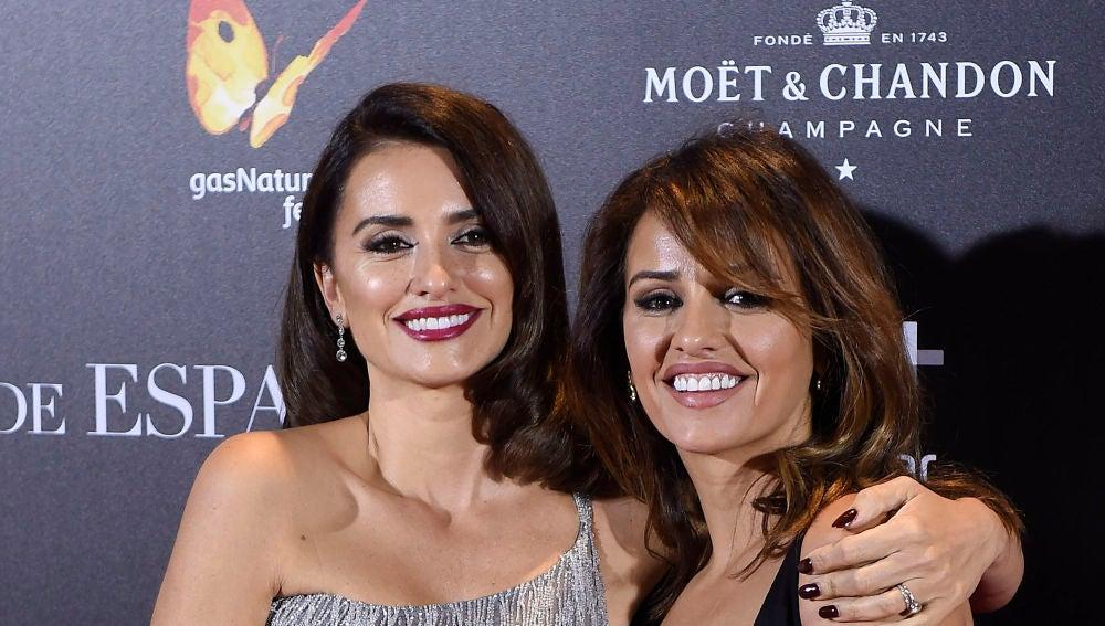 Penélope Cruz y su hermana Mónica