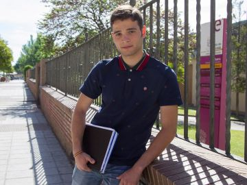 El candidato a alcalde más joven de Castilla y León, Juan del Canto