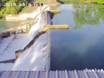 Rotura de una presa en Texas, en Estados Unidos