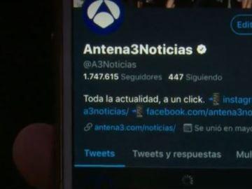 Web Antena 3 Noticias