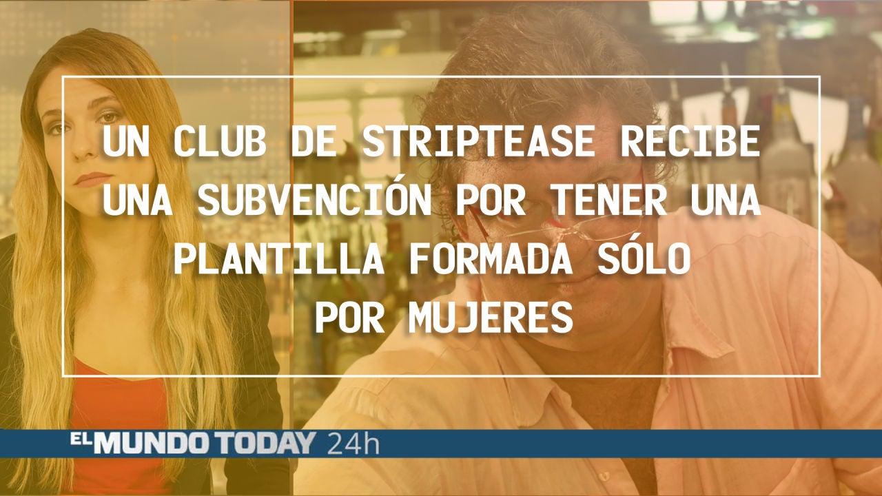 Un Club De Striptease Recibe Una Subvención Por Tener Una