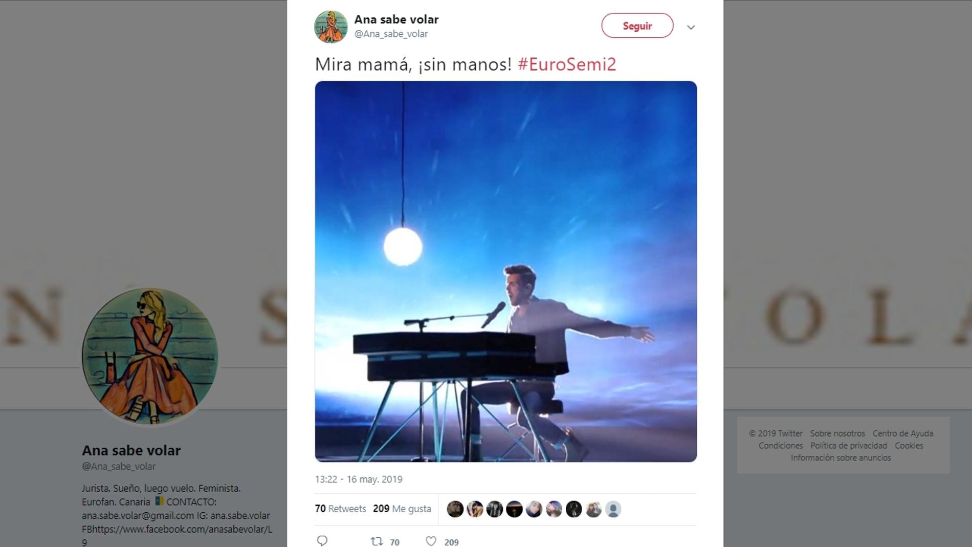 Memes semifinal Eurovisión