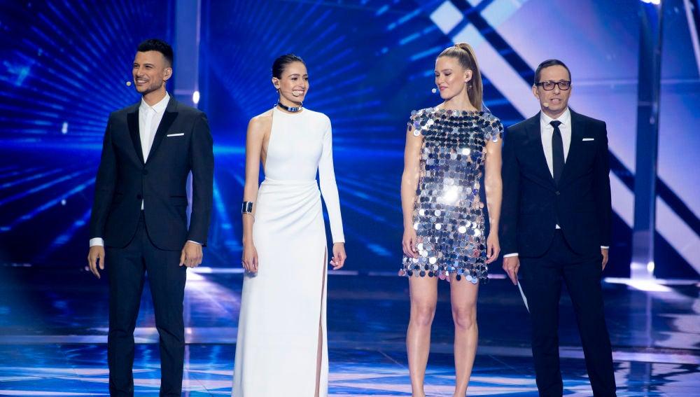 Presentadores Eurovisión 2019