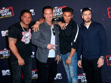 Ronnie Ortiz-Magro, Mike 'The Situation', Pauly D y Vinny Guadagnino