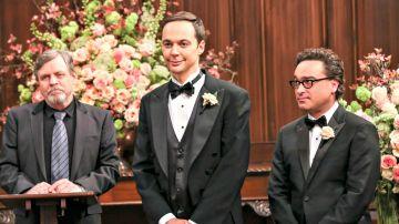 Mark Hamill, Jim Parsons y Johnny Galecki en 'The Big Bang Theory'