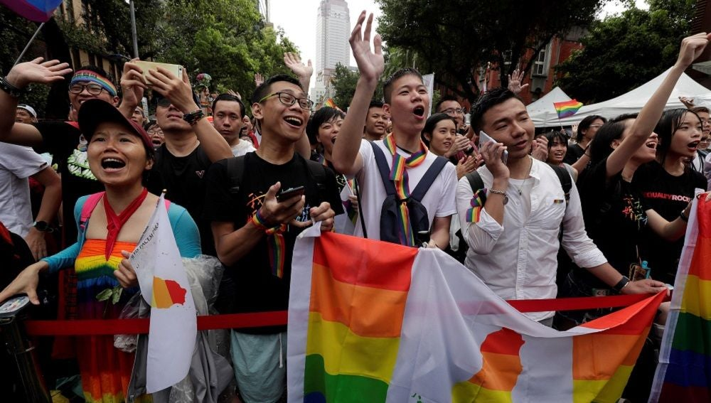 Taiwán legaliza el matrimonio homosexual y se convierte en el país pionero en el continente asiático