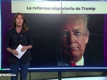 Trump quiere dar prioridad a los inmigrantes que sepan inglés