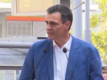 Pedro Sánchez apoya a la candidata socialista a Santa Cruz