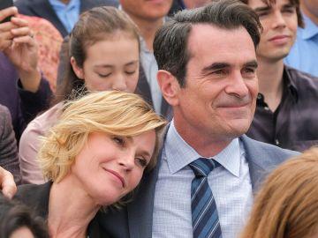 Clair y Phil en la décima temporada de 'Modern Family'