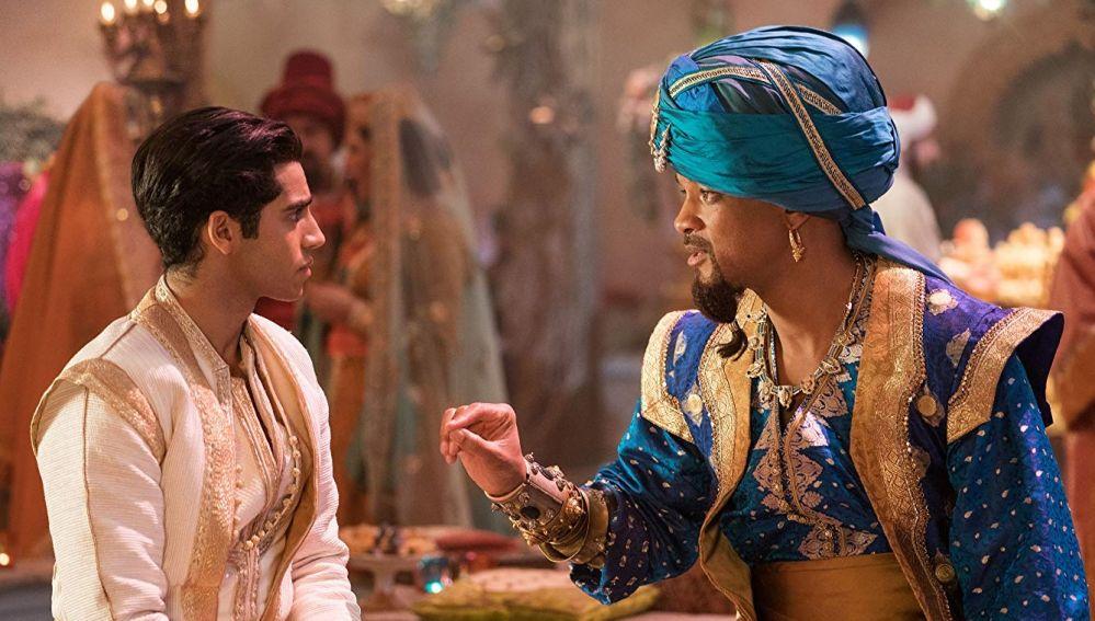 Aladdin y el Genio en el nuevo remake de Disney