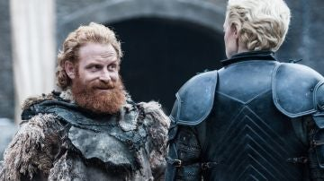 Tormund y Brienne de Tarth en 'Juego de Tronos'