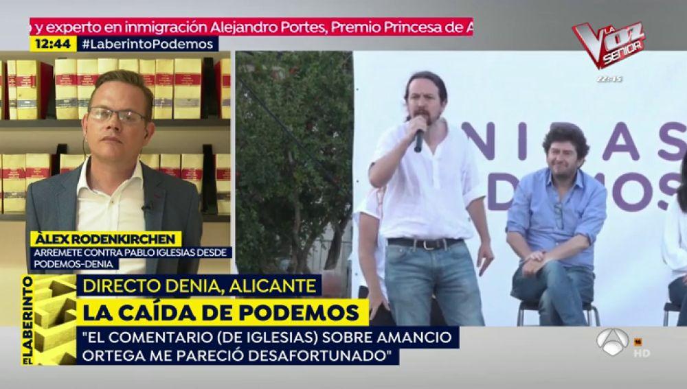 Críticas contra Pablo Iglesias